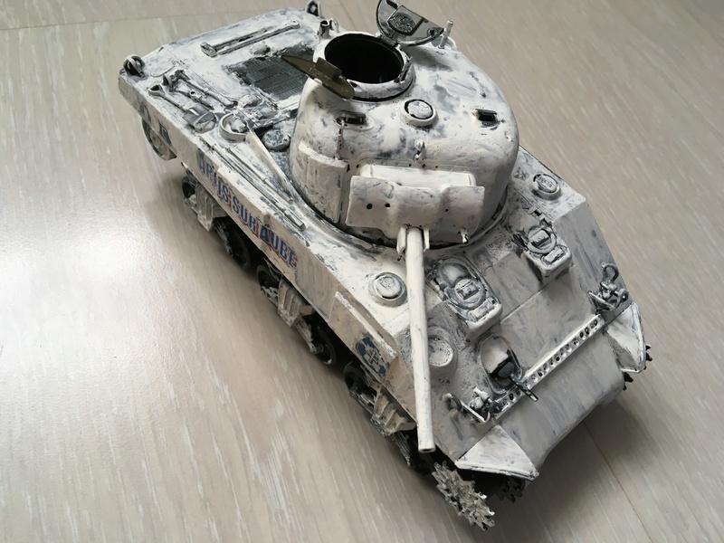 """Sherman M4A2 """"Arcis sur Aube"""" 501RCC - 1/35 Tamiya Img_4514"""