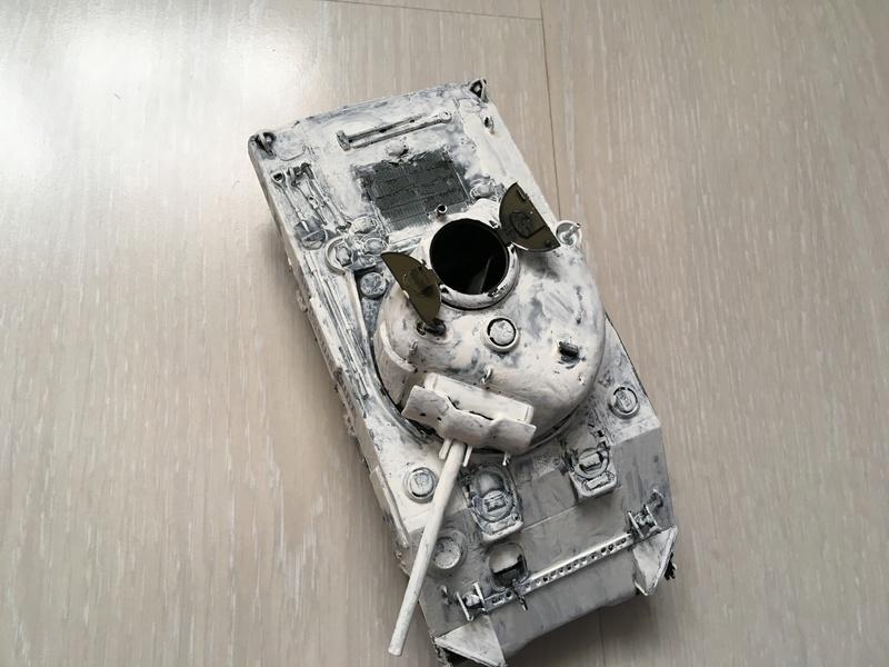 """Sherman M4A2 """"Arcis sur Aube"""" 501RCC - 1/35 Tamiya Img_4515"""