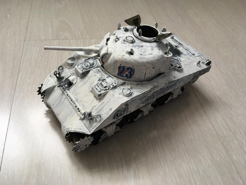 """Sherman M4A2 """"Arcis sur Aube"""" 501RCC - 1/35 Tamiya Img_4517"""