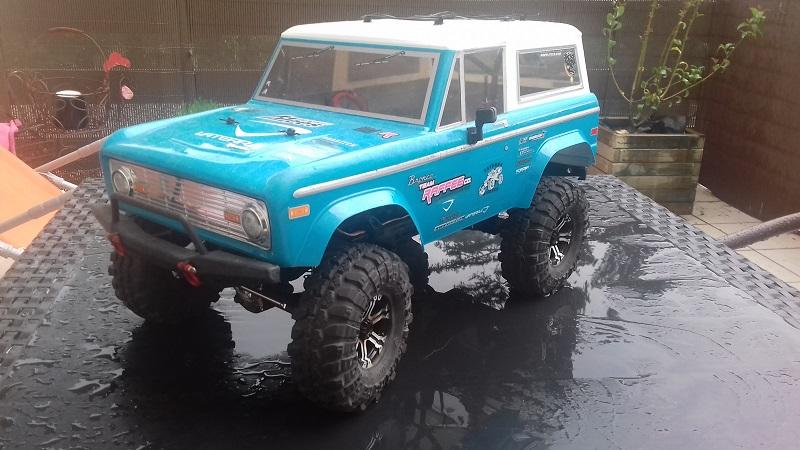 Mon Vaterra Ford Bronco. 20180510
