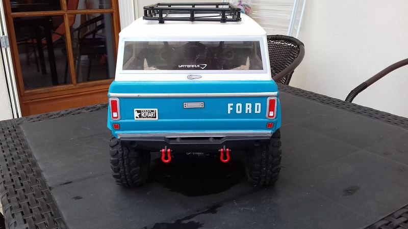 Mon Vaterra Ford Bronco. 20180514