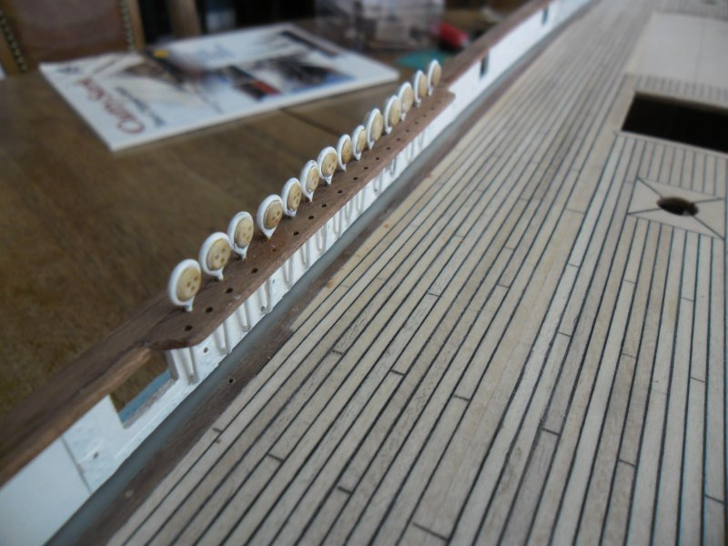 Cutty Sark au 1/84e - Artesania Latina par Fred P. - Page 4 Cutty-99