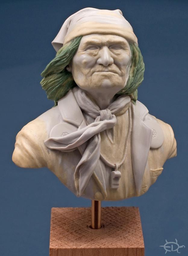 Buste de Geronimo 1/7 transformé (Terminé) Edan_112
