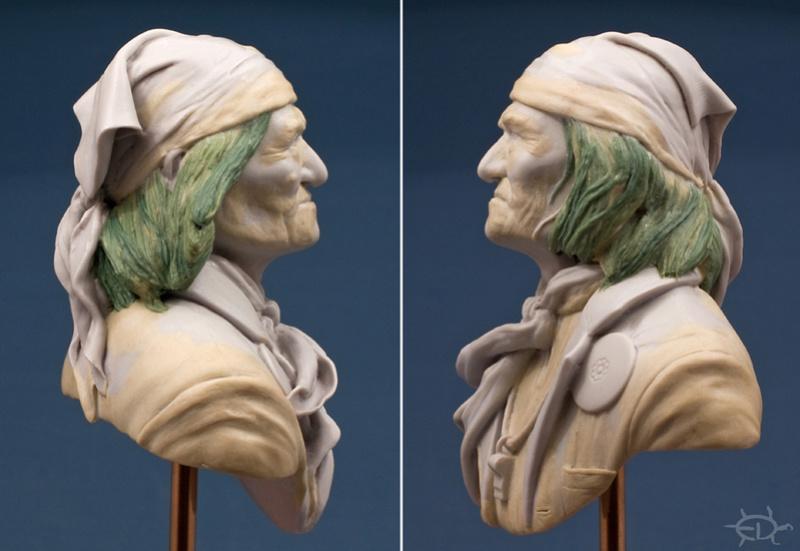 Buste de Geronimo 1/7 transformé (Terminé) Edan_113