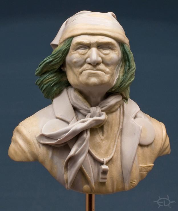 Buste de Geronimo 1/7 transformé (Terminé) Edan_118