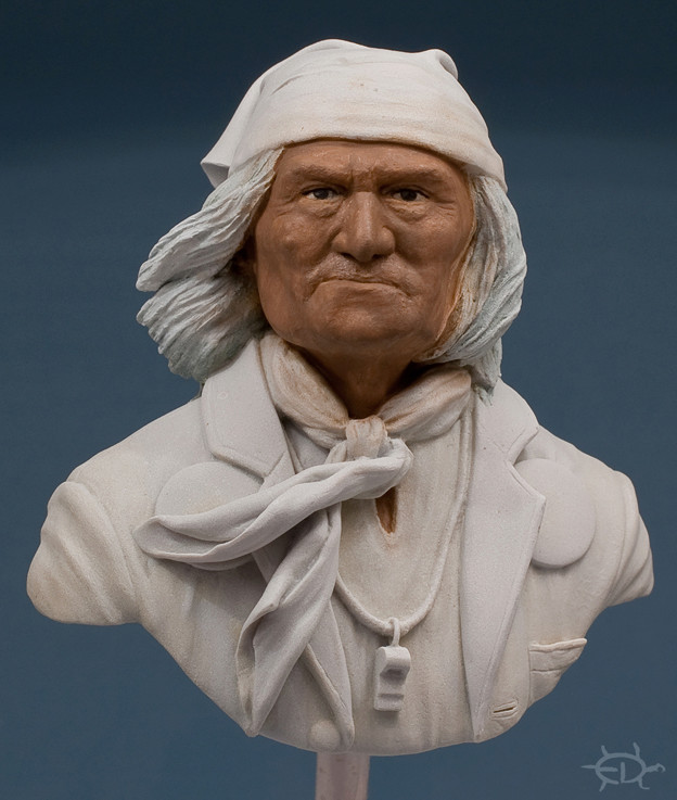 Buste de Geronimo 1/7 transformé (Terminé) Edan_119