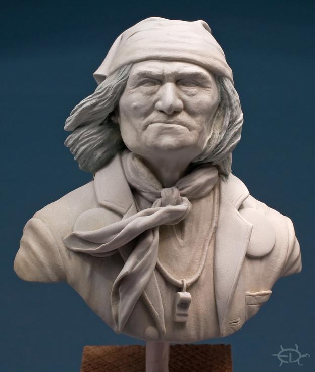 Buste de Geronimo 1/7 transformé (Terminé) Edan_120