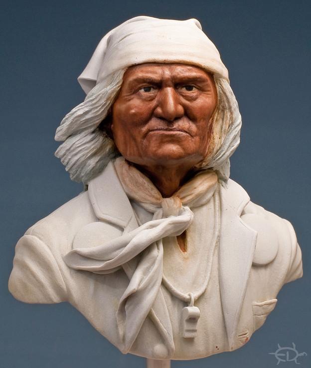 Buste de Geronimo 1/7 transformé (Terminé) Edan_121