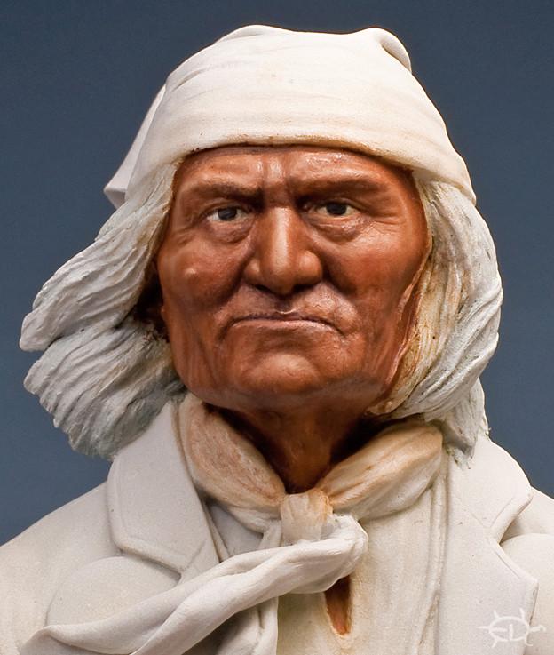 Buste de Geronimo 1/7 transformé (Terminé) Edan_122