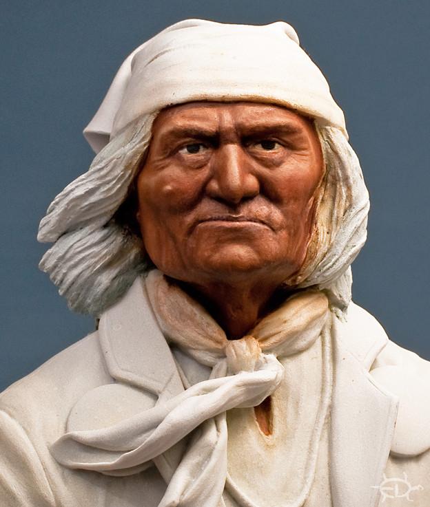 Buste de Geronimo 1/7 transformé (Terminé) Edan_123