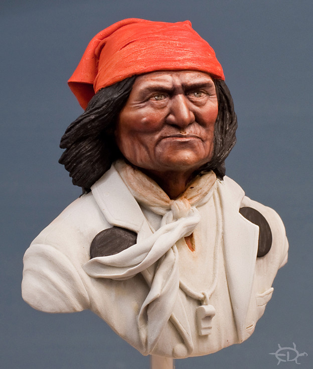 Buste de Geronimo 1/7 transformé (Terminé) Edan_211