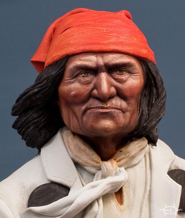 Buste de Geronimo 1/7 transformé (Terminé) Edan_212