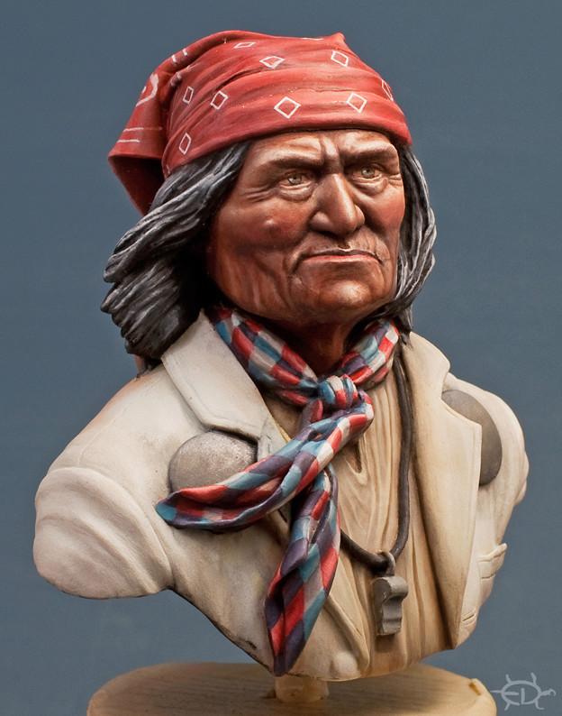 Buste de Geronimo 1/7 transformé (Terminé) - Page 2 Edan_224