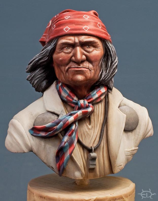 Buste de Geronimo 1/7 transformé (Terminé) - Page 2 Edan_312