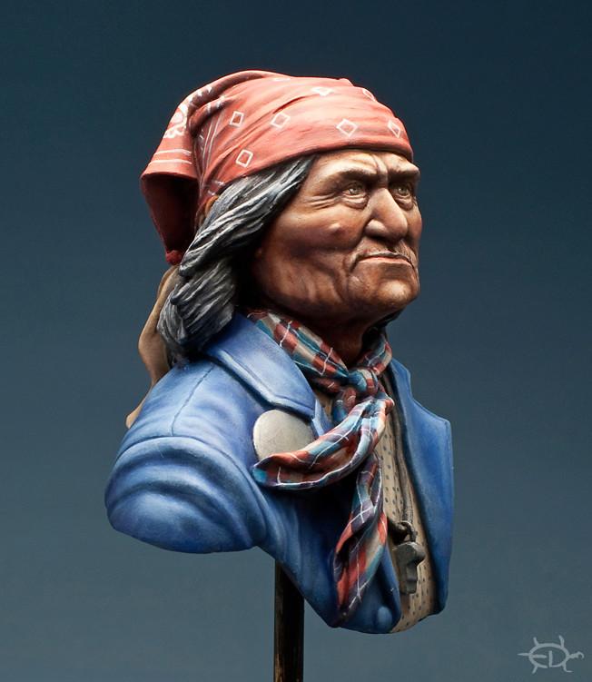 Buste de Geronimo 1/7 transformé (Terminé) - Page 2 Edan_315