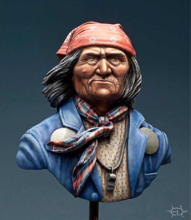 Buste de Geronimo 1/7 transformé (Terminé) - Page 2 Edan_316