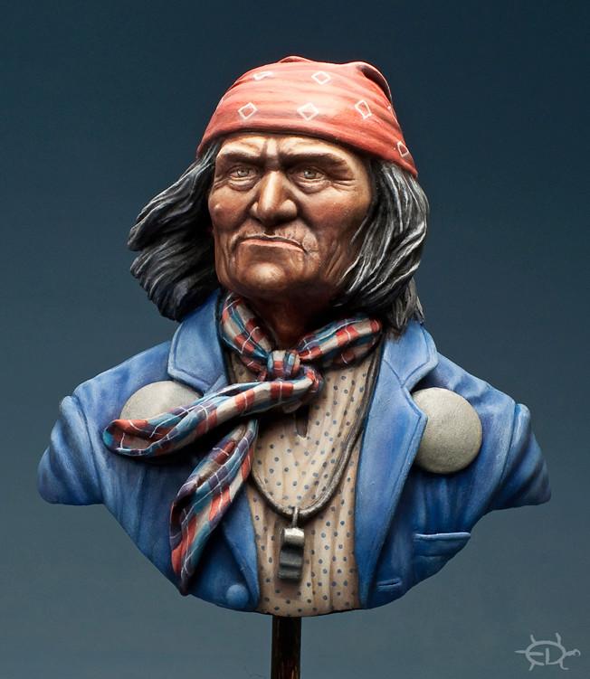Buste de Geronimo 1/7 transformé (Terminé) - Page 2 Edan_317