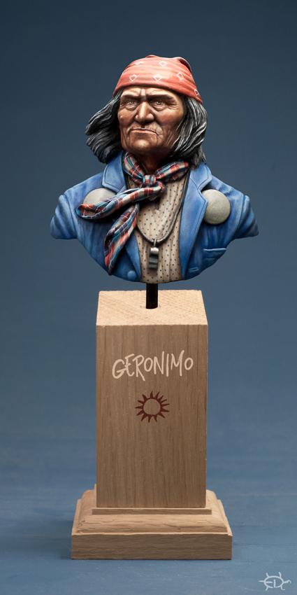 Buste de Geronimo 1/7 transformé (Terminé) - Page 2 Edan_318