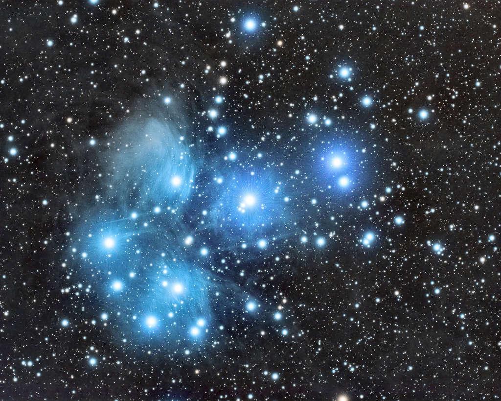 Les pleiades M4510