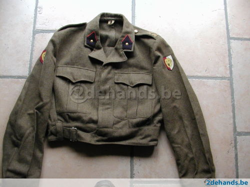Questions about Belgian Battledress uniform and insignia 54398010