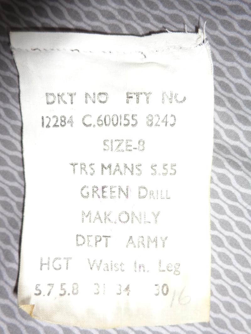 Australian M56 type webbing and Vietnam related uniform stuff Dsc03830