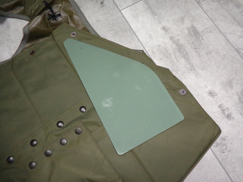 Steel plated body armor, Zunblindage, ABL 1975 marked Dsc04114