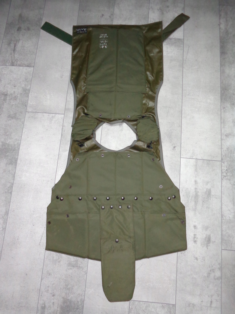 Steel plated body armor, Zunblindage, ABL 1975 marked Dsc04115