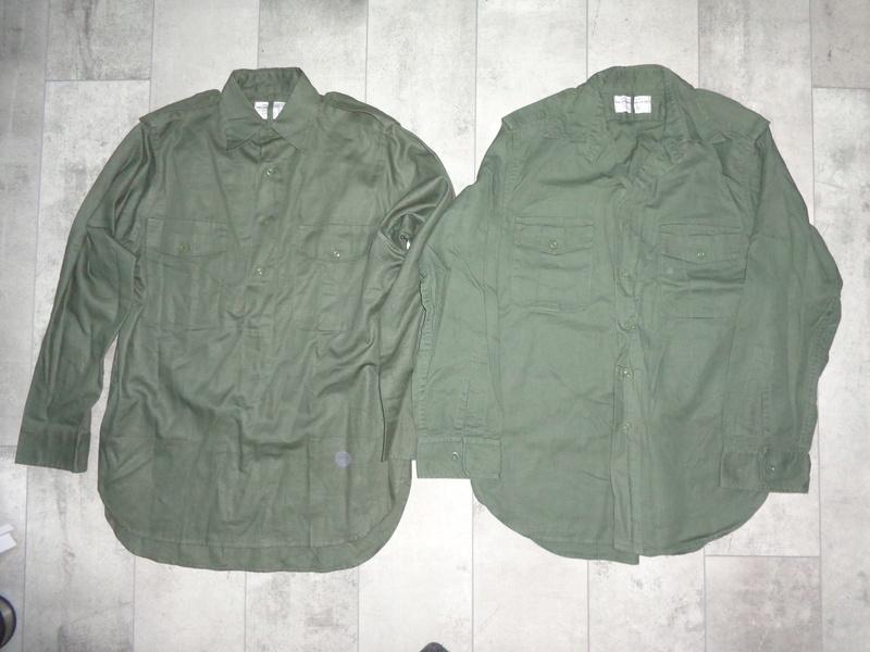 Dutch shirts, M76 and Shui Lung tropical Dsc04326