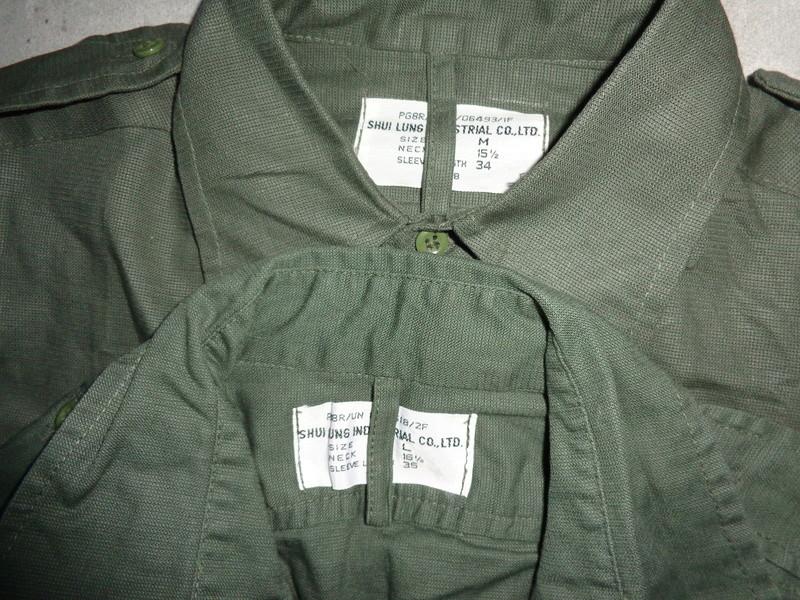Dutch shirts, M76 and Shui Lung tropical Dsc04327