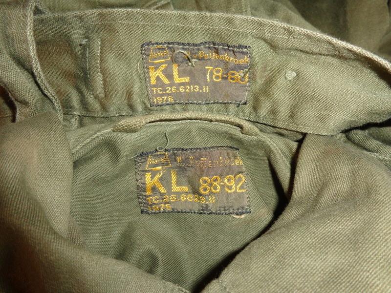 """Dutch shortlived 70's uniforms, """"M75"""" and M76 Dsc04515"""