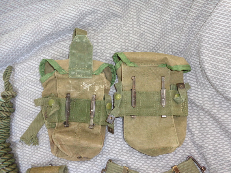 Australian M56 type webbing and Vietnam related uniform stuff Dsc04721
