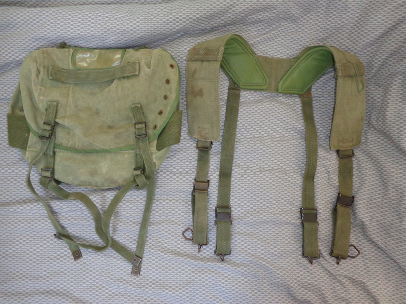 Australian M56 type webbing and Vietnam related uniform stuff Dsc04723