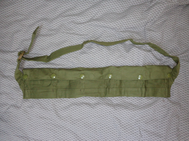 Australian M56 type webbing and Vietnam related uniform stuff Dsc04736