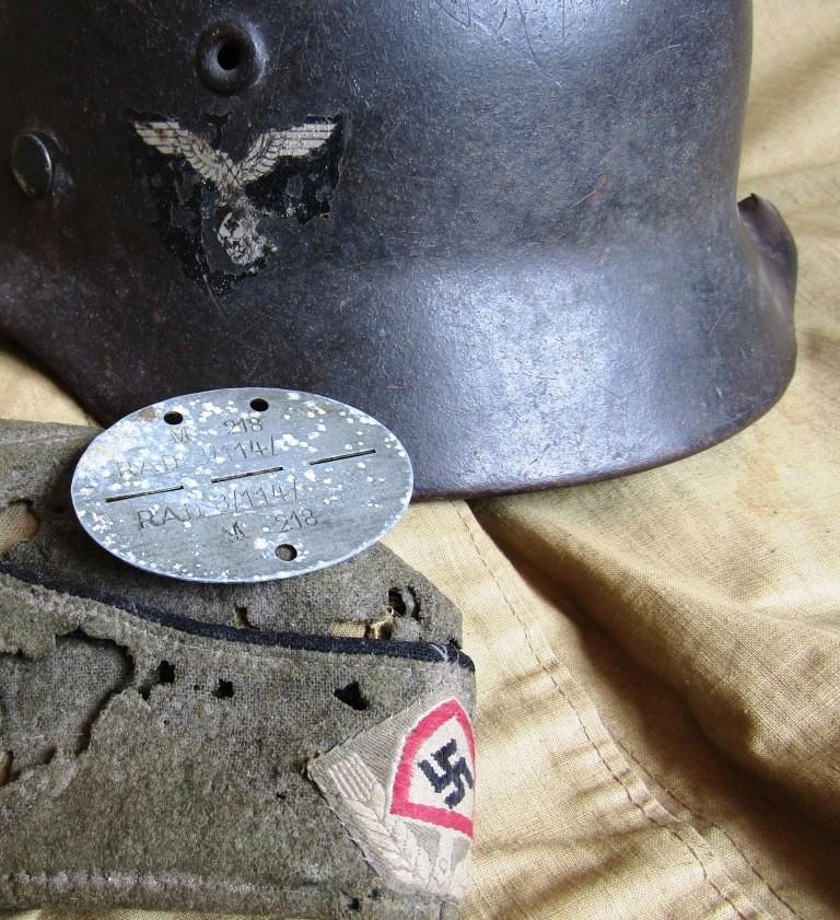 Casque Allemand RAD(Reich Labor Service) Img_4940