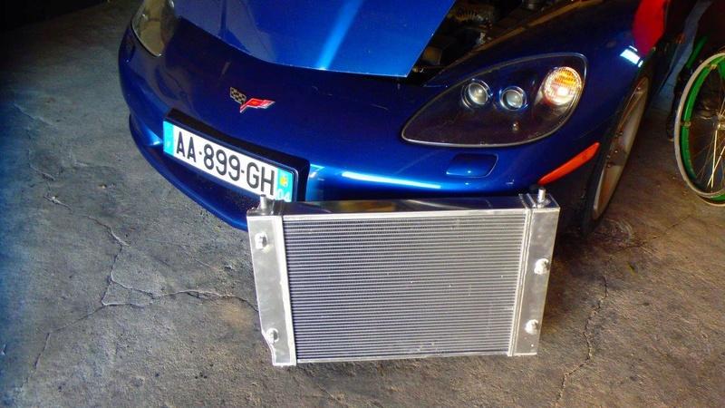Pose d'un radiateur tout alu GPI Racing 64mm  P4170010