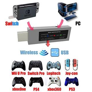 Adaptador Mandos Sony, Microsoft y Nintendo para Nintendo Switch Mandos10