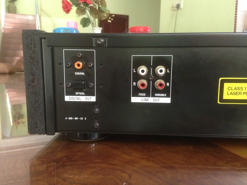 Sony CDP-338ESD master piece(Redu price) Back_l10