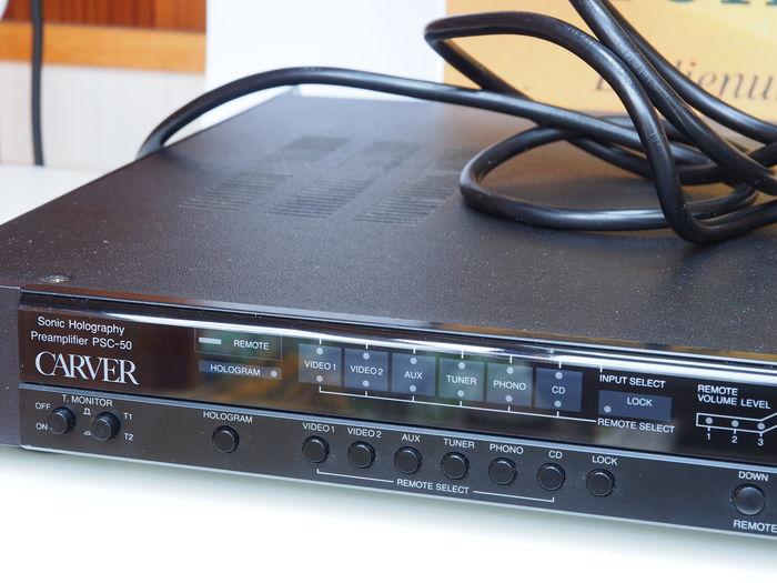 Carver PSC-50 High-End pre-amplifier (made in japan) Carver10