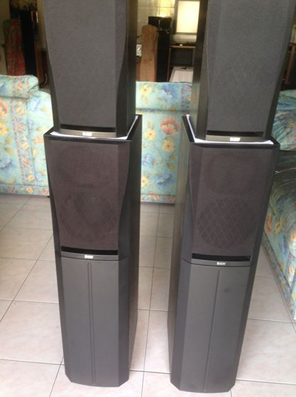 (SOLD)B&W DM'305 n DM'302 prism system speakers Dm210