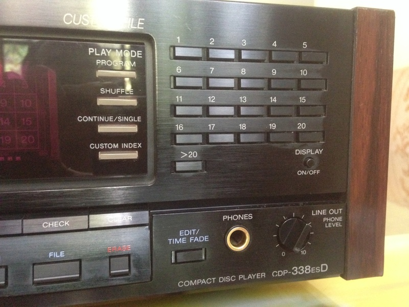Sony CDP-338ESD master piece(Redu price) Front_10