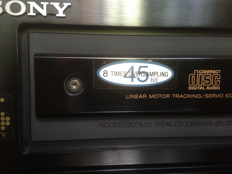Sony CDP-338ESD master piece(Redu price) Front_11