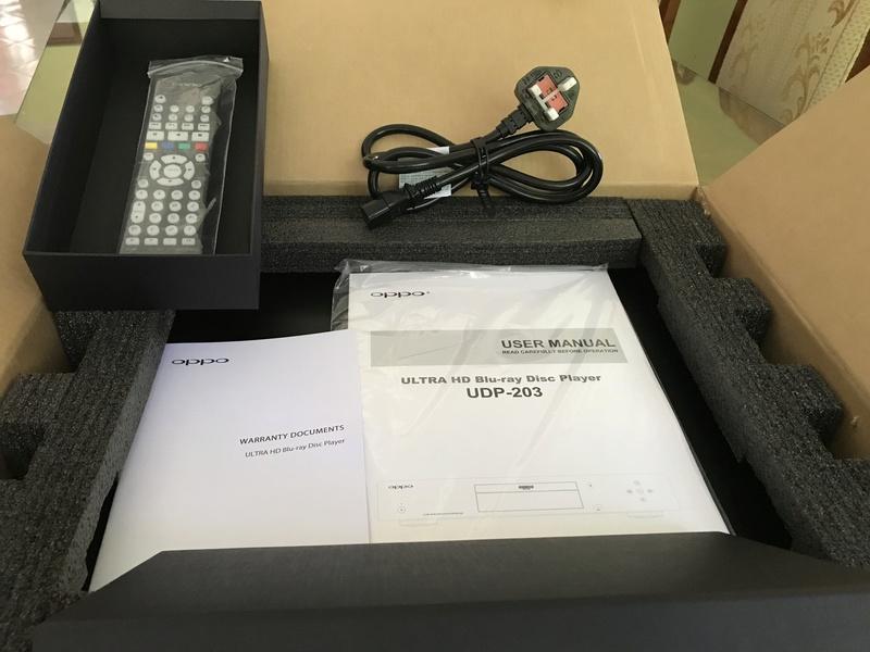 OPPO UDP-203 4K Ultra(Jailbreak) Brand new cond Img_1411