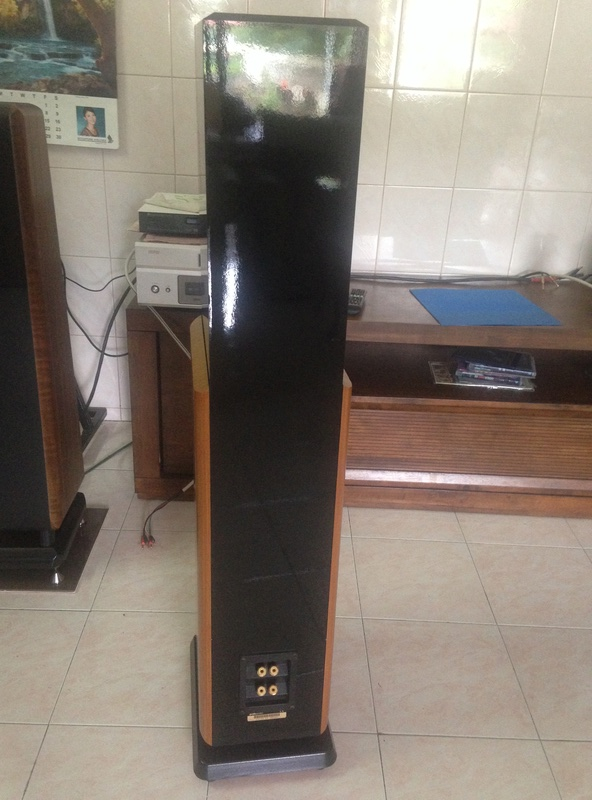 POLK audio LSI 15 tower speakers + LSIC  center speaker  Img_3120