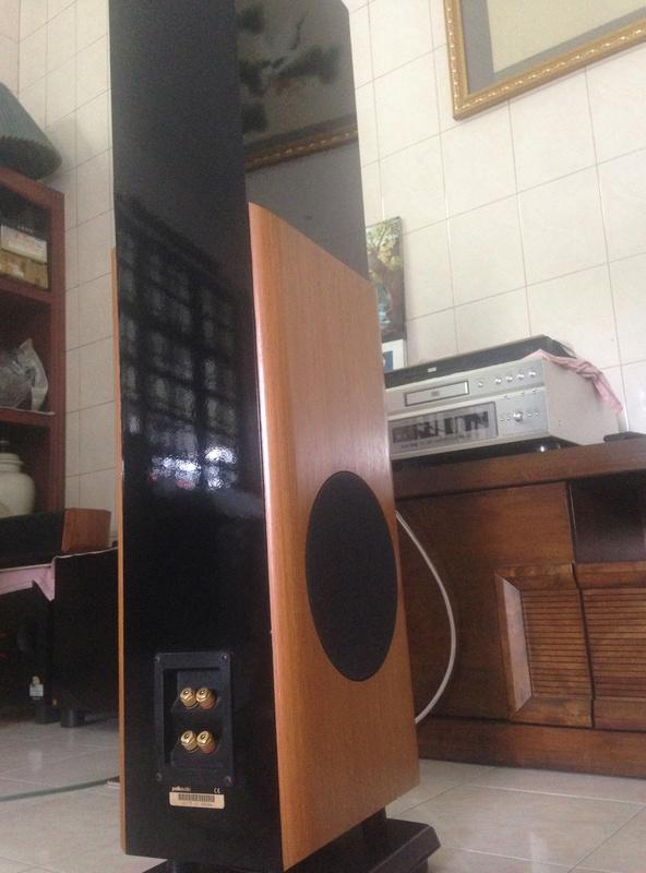 POLK audio LSI 15 tower speakers + LSIC  center speaker  Img_3121