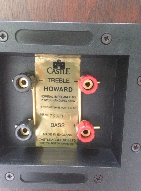 """CASTLE HOWARD(""""Special Finish"""" edition) hi end speakers Img_4025"""