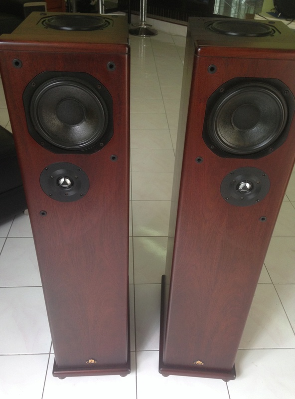 """CASTLE HOWARD(""""Special Finish"""" edition) hi end speakers Img_4119"""