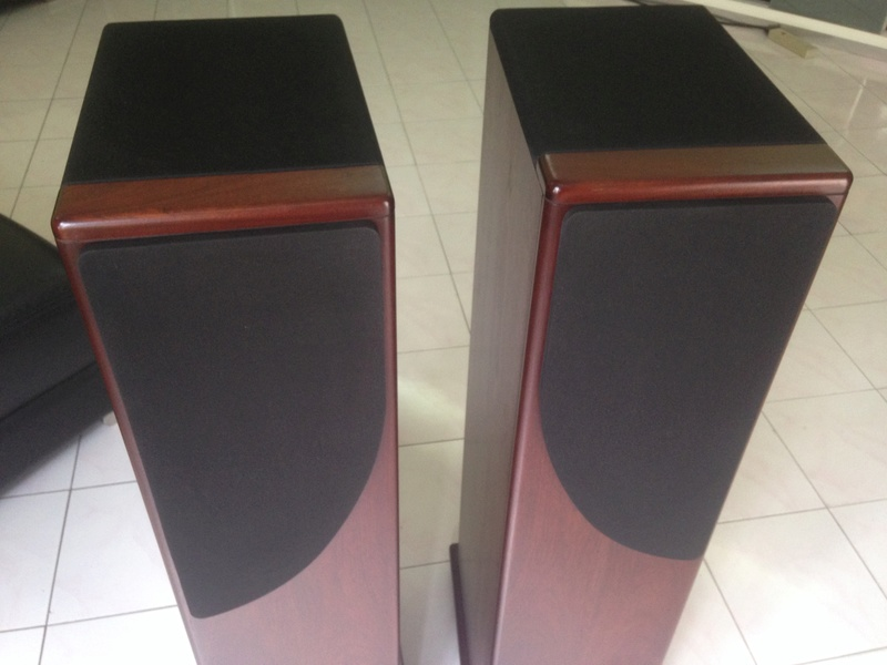 """CASTLE HOWARD(""""Special Finish"""" edition) hi end speakers Img_4122"""