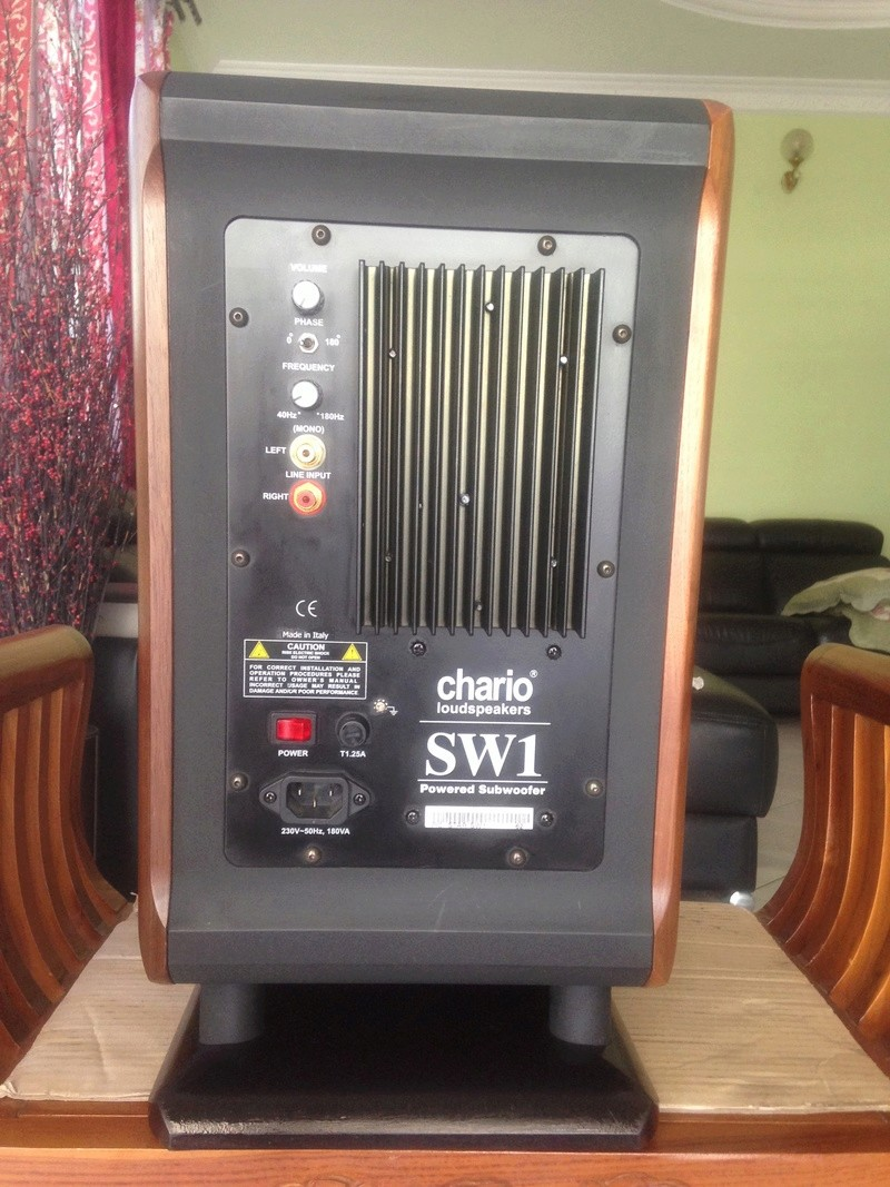 CHARIO  SW1-subwoofer (ITALY)  Img_4516