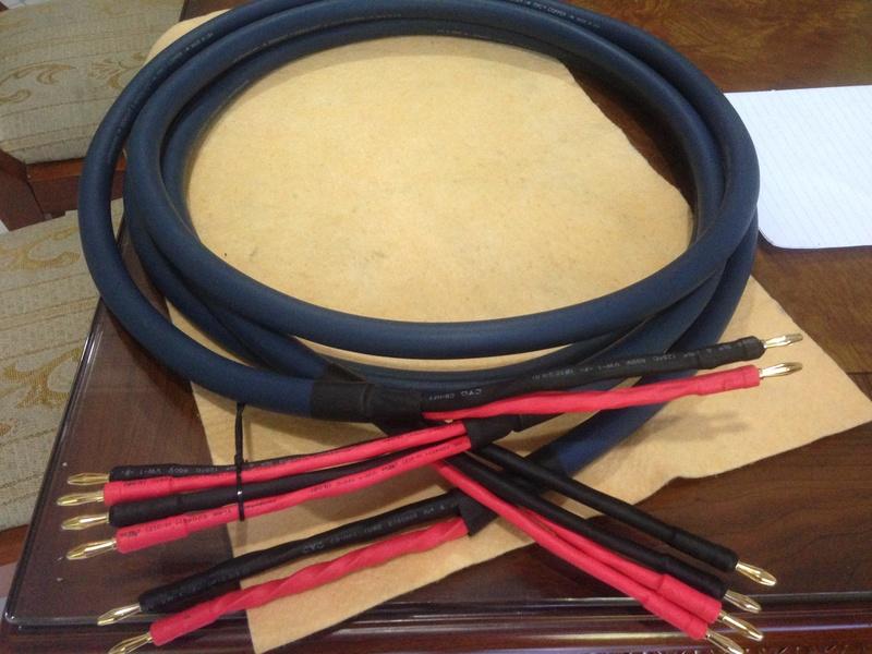 Audioquest MIDNIGHT 3 Hyperlitz biwire Speaker Cable(NEW) Img_4913