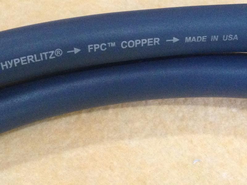 Audioquest MIDNIGHT 3 Hyperlitz biwire Speaker Cable(NEW) Img_4915